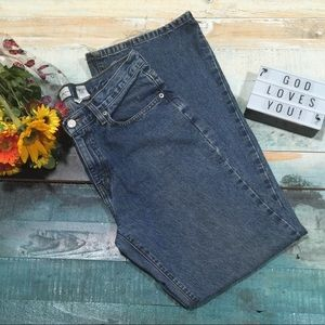 Calvin Klein Jeans relaxed flare size 8